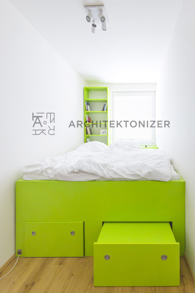 cabin bed and stairs