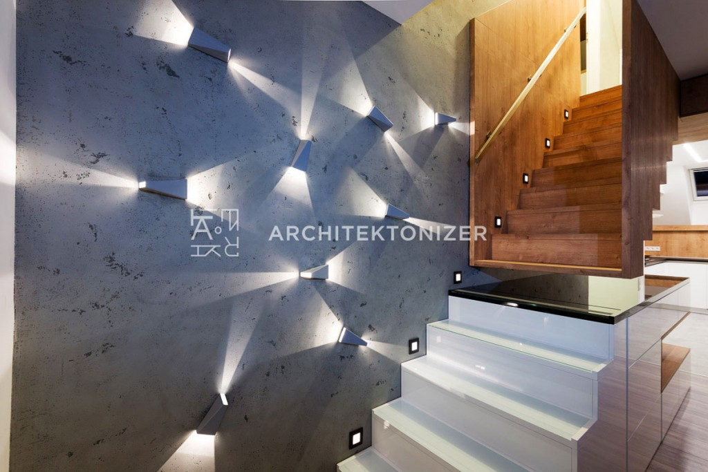architectural stairs lights